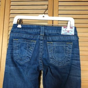 Flair Leg Carrie Blue Jeans Medium 26